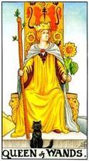 Королева жезлов значение в гадании