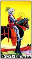 Рыцарь пентаклей значение в гадании